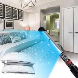 20W 110V Lampada portatile per disinfezione UV a LED Luci germicide portatili